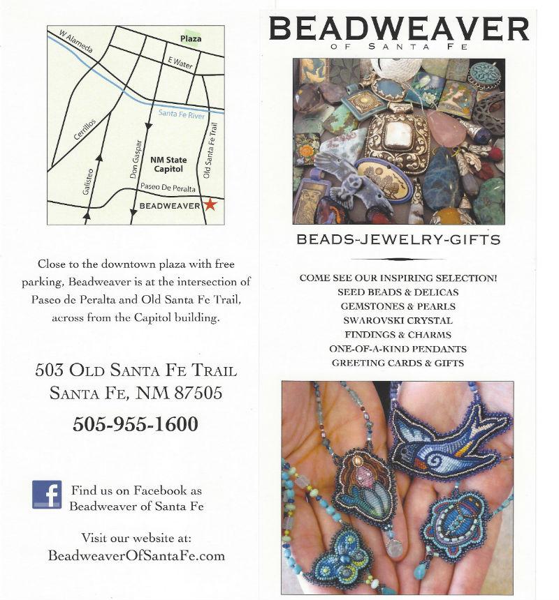 Beadweaver of Santa Fe brochure
