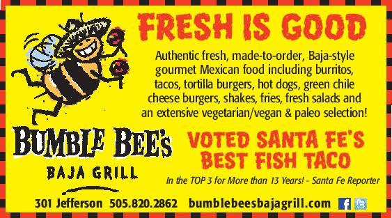 Bumble Bee's Baja Grill brochure