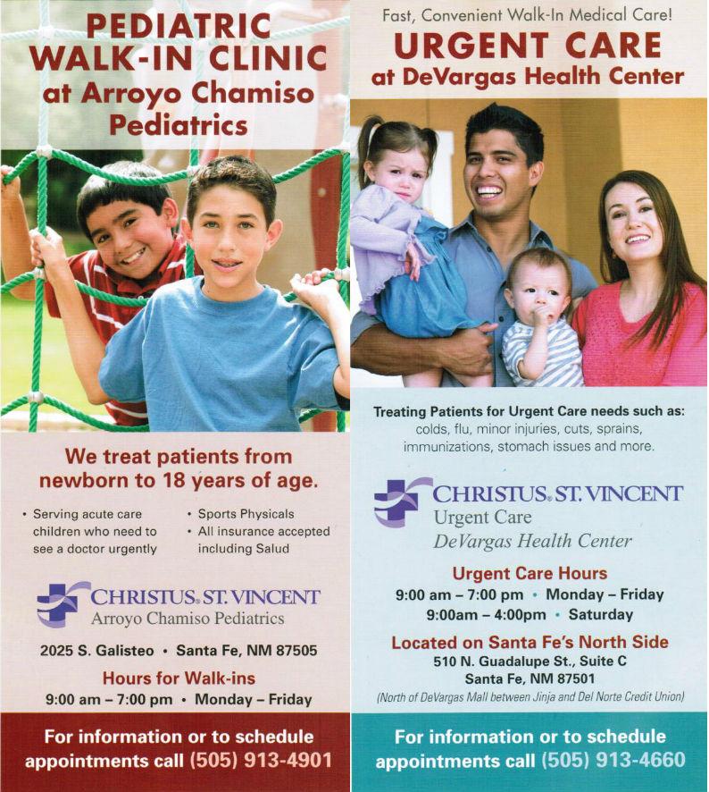 Christus St. Vincent brochure