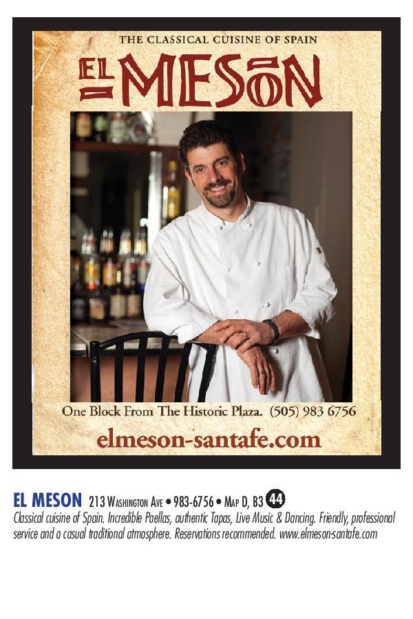 El Meson brochure