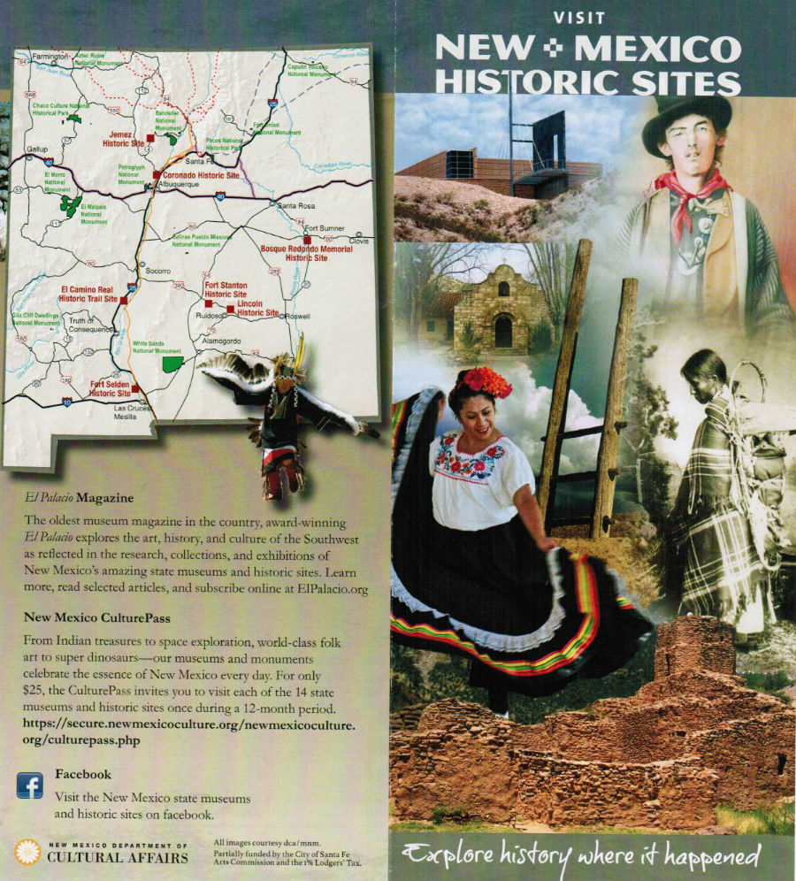 New Mexico History Museum brochure