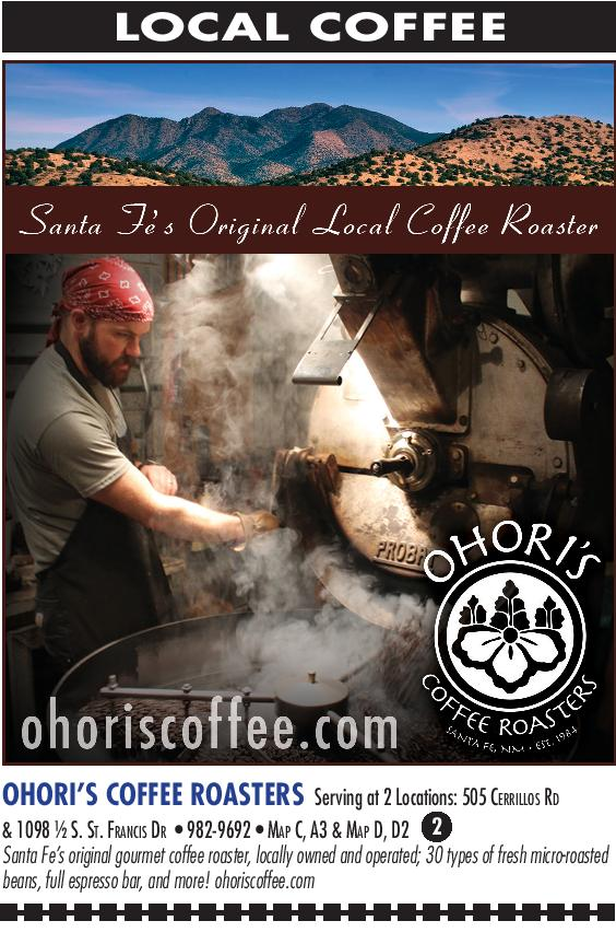 Ohori's Coffee Roasters brochure