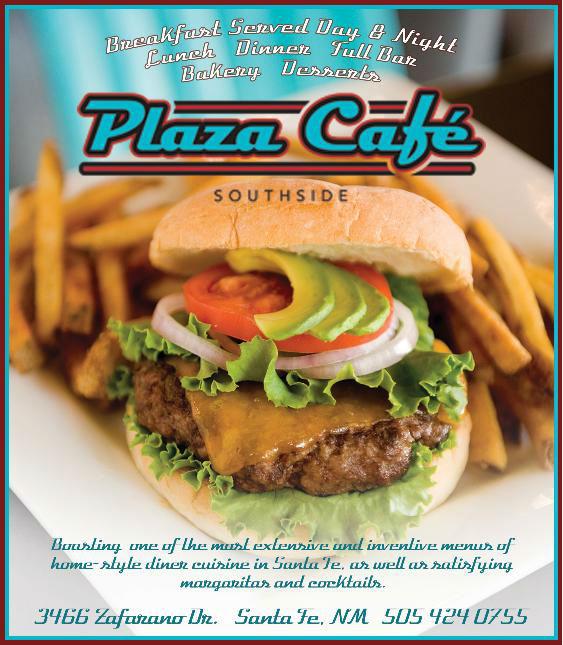 Plaza Cafe Southside brochure
