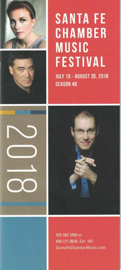 Santa Fe Chamber Music Brochure