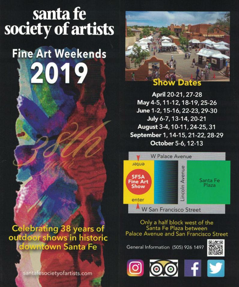 Santa Fe Society of Artists brochure