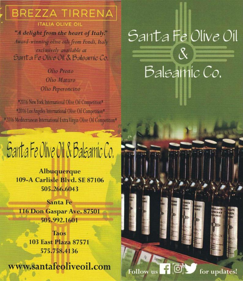 Santa Fe Olive Oil