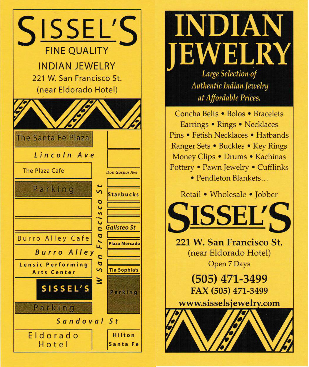 Sissel's Indian Jewelry