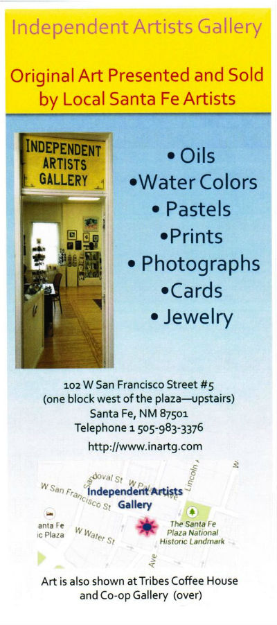 Independent Artists Gallery brochure