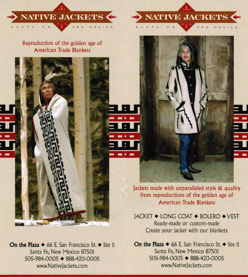 Native Jackets brochure