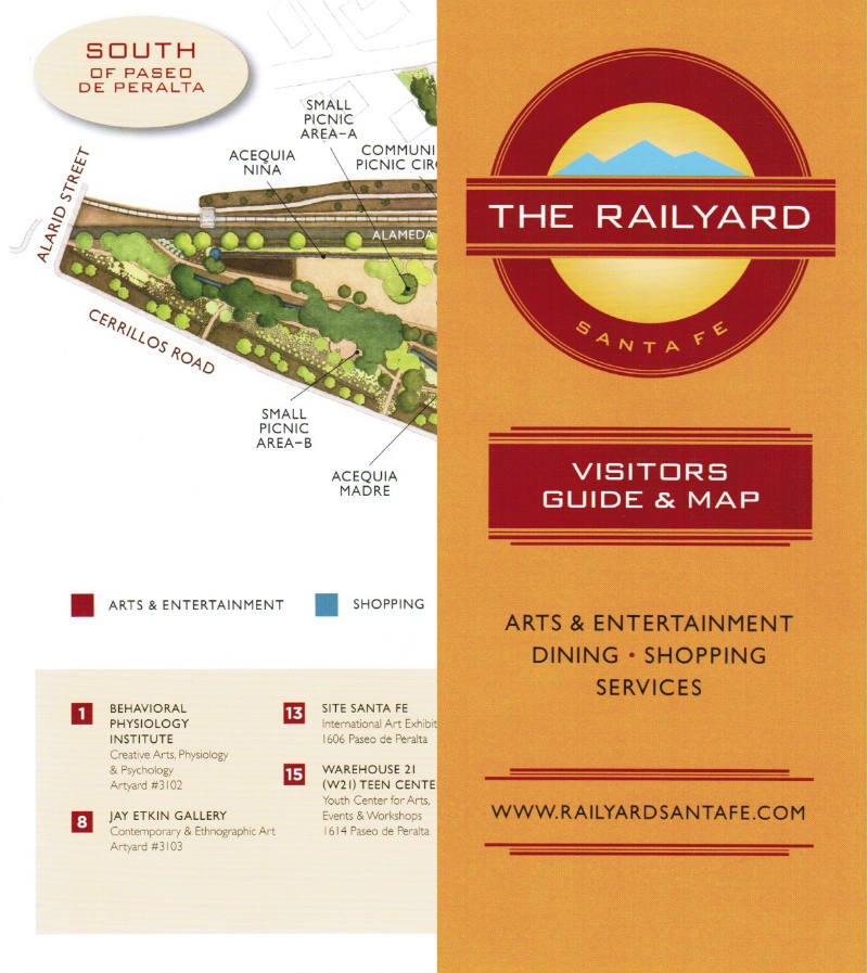 The Railyard brochure