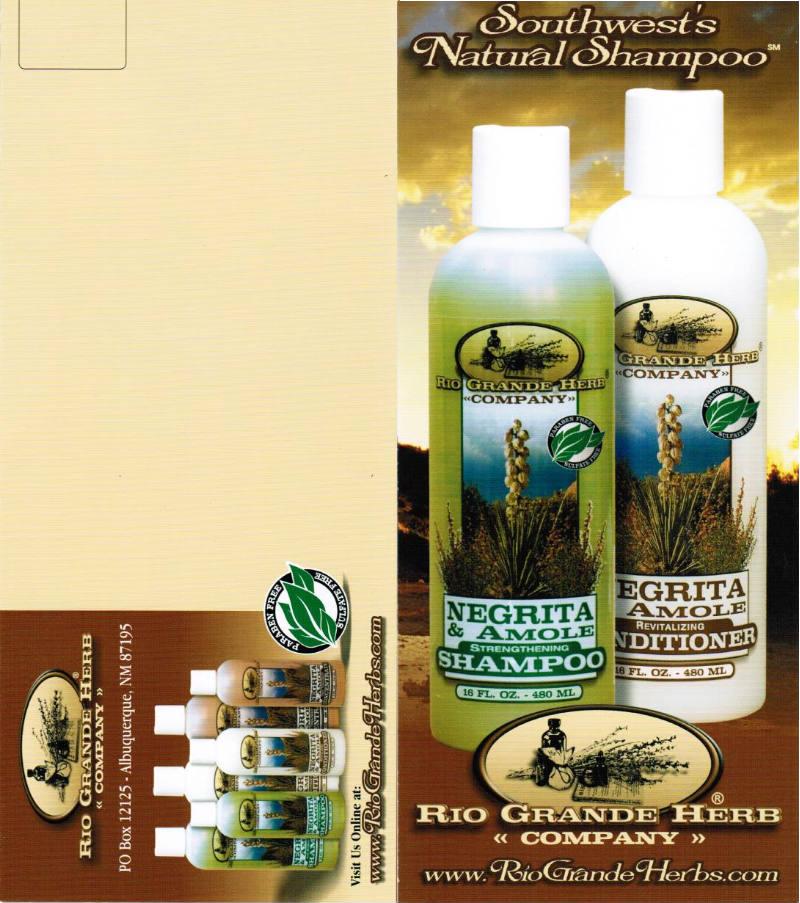 Rio Grande Herb Company brochure