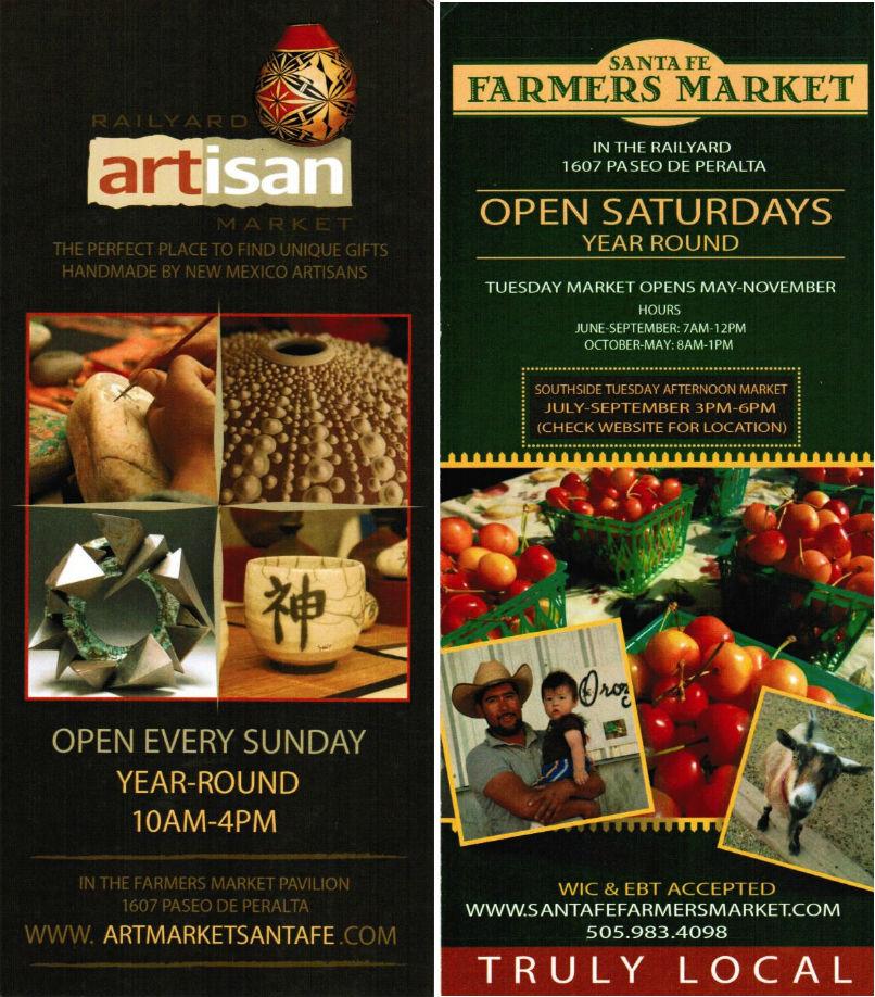 Santa Fe Farmers Market brochure