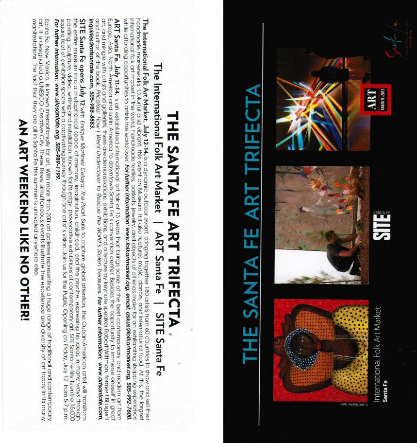 SITE Santa Fe brochure